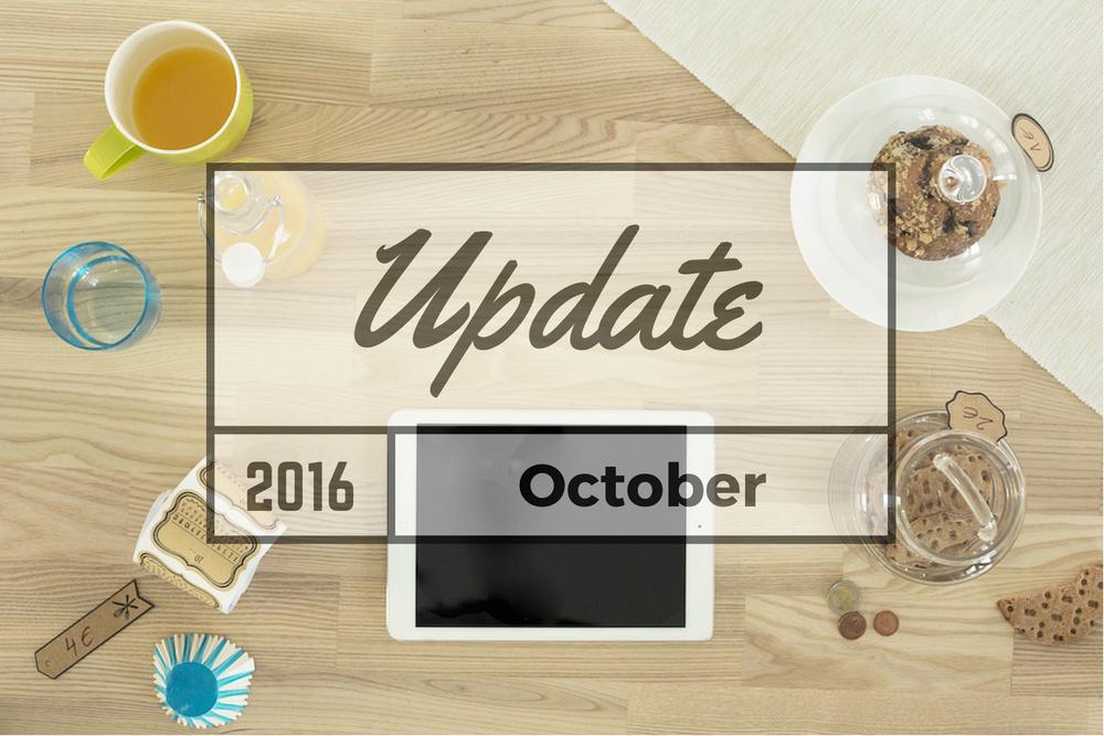 October 2016 Update